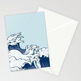 The Great Kanagawa Japanese Wave Stationery Cards