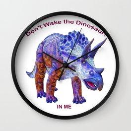 Don't Wake the Dinosaur! Wall Clock