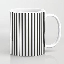 BLACK & WHITE MEMPHIS STRIPES Coffee Mug