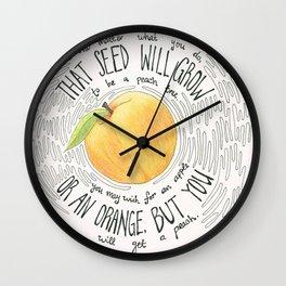 Oogway's Wisdom Wall Clock