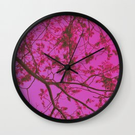 RoseTree Wall Clock