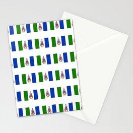 flag of yukon -yukoner,whitehorse,first nations,klondike,artic Stationery Cards