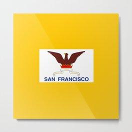 Flag of San Francisco Metal Print