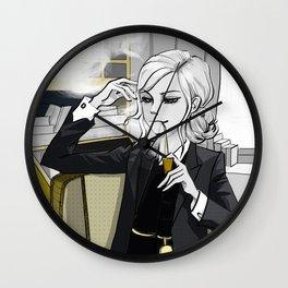 Charlotte Holmes Wall Clock
