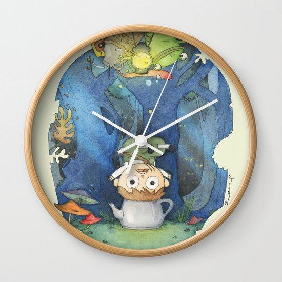 Over The Garden Wall Wall Clock By Zamp Society6