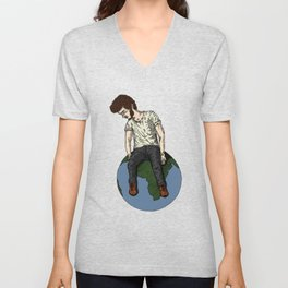The Tallest Man on Earth Unisex V-Neck