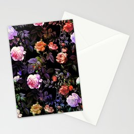 Night Forest III Stationery Cards