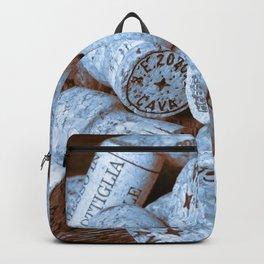 BLUE CHAMPAGNE CORK Backpack