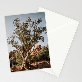 Sedona Arizona Tree & Red Rocks Stationery Cards