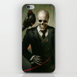 Skully Gentleman iPhone Skin
