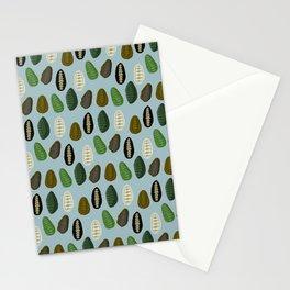 Sea Cradles (light blue) Stationery Cards
