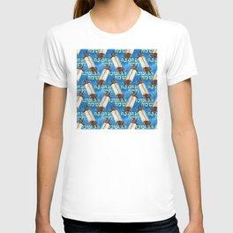 Hanukkah Holidays Sacred Scrolls Pattern T-shirt