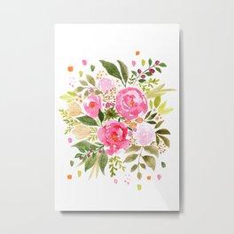 Nicola Bouquet Metal Print