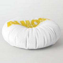 Almost Heaven West Virginia design Gift For Men or Women Floor Pillow