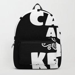 Keep Calm Be Kind Good Generous Tee Backpack