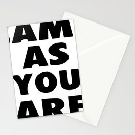 Come As You Are Printable Wall Art Stationery Cards