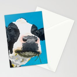Margot the Relaxed Cow Stationery Cards