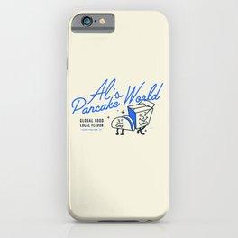 Al's Pancake World iPhone Case