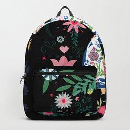 Folk Art Forest Fairy Tale Fraulein Backpack