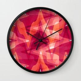 Rhythms in Citrus & Berry Wall Clock