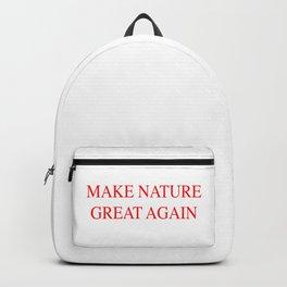 Make Nature Great Again Backpack