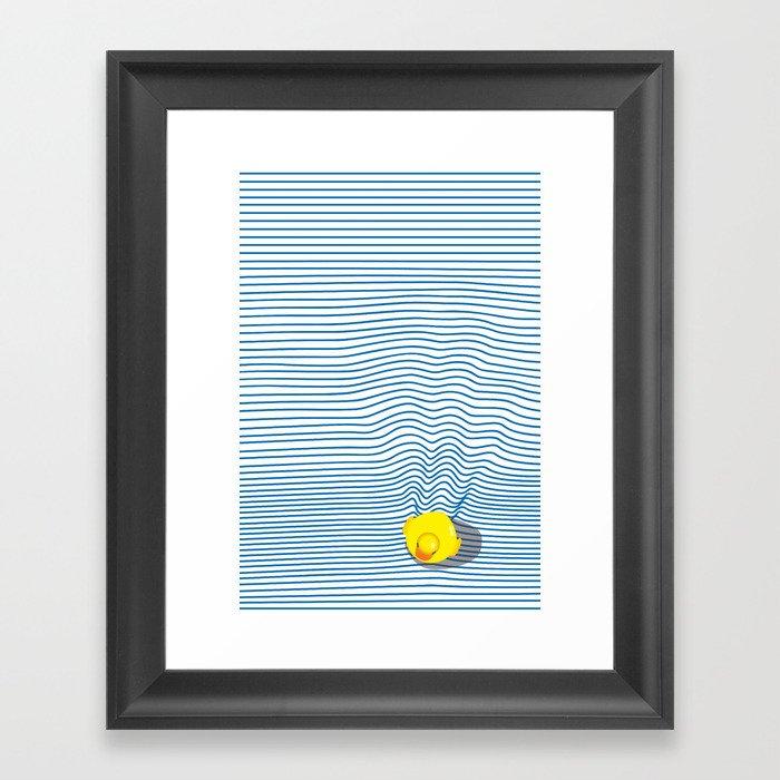 Rubber Ducky Gerahmter Kunstdruck
