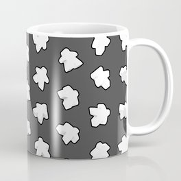 White Game Meeples Coffee Mug