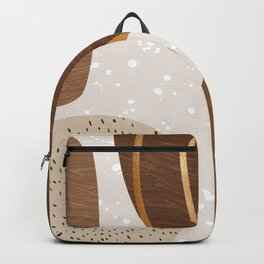 Trendy Abstract Collection: Meet the Browns Backpack
