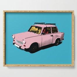 Trabant pink pop Serving Tray