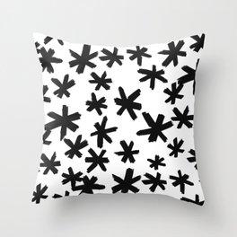 Secret Buttholes - WHITE Throw Pillow
