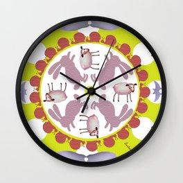 ronda verde Wall Clock