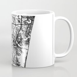 Jersey Shore, New Jersey Map Art (White) Coffee Mug