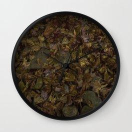 Fall Fantasy Wall Clock