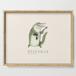 Rockodile Serving Tray
