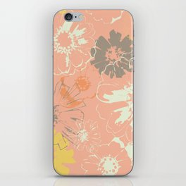 Late Summer Peach iPhone Skin