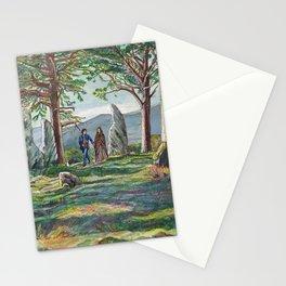 Craigh na dun (Outlander) Stationery Cards