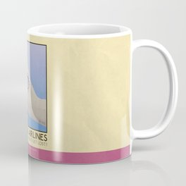 Silver Screen Tourism: OCEANIC AIRLINES / LOST Coffee Mug