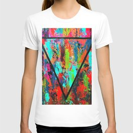 Abstract Triangle T-shirt