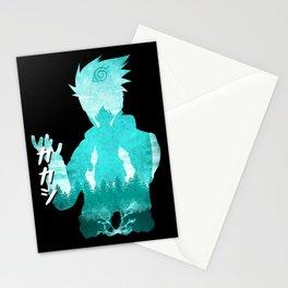 Minimalist Silhouette Teacher Stationery Cards