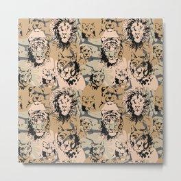 Wild animals Metal Print
