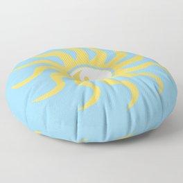Yin yang sunshine Floor Pillow