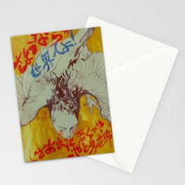 goodbye madame world Stationery Cards