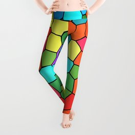 Stained Glass Rainbow 2183 Leggings