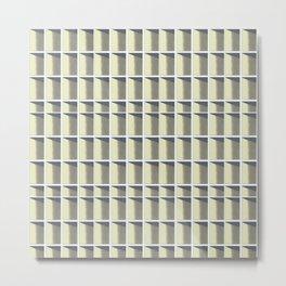 Sky Grid Metal Print