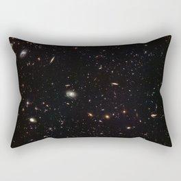 Hubble Space Telescope - A galactic gathering Rectangular Pillow