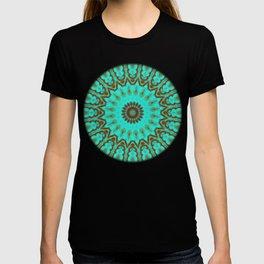 Kaleido in Oxidized Copper T-shirt