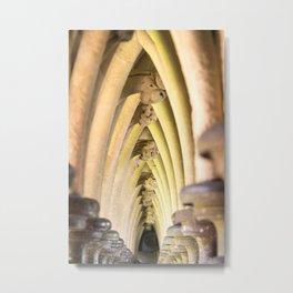 Abbey arches Metal Print