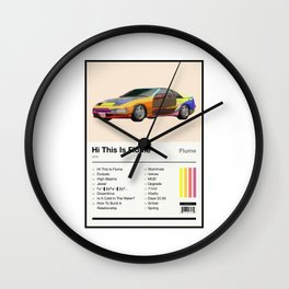 Hi This Is Flume Tracklist Wall Clock