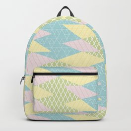 Fifties Spring Geomertry Backpack