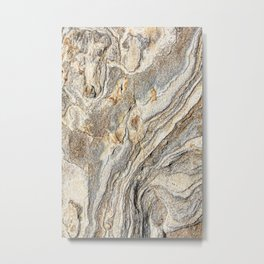 Concrete Texture Metal Print